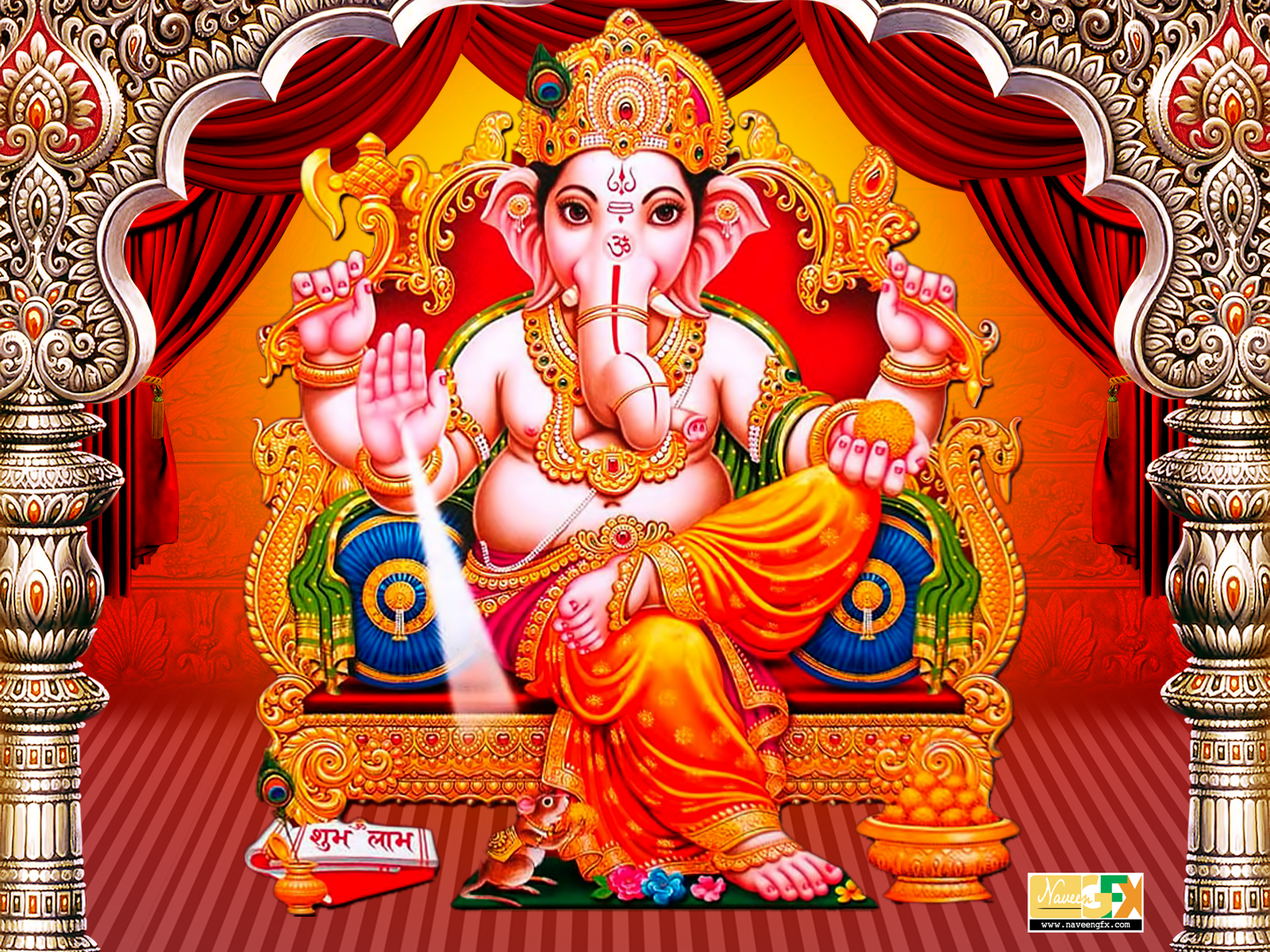 Hd wallpaper ganesh - Lord Ganesha Hd Images Wallpapers Free Downloads Naveengfx