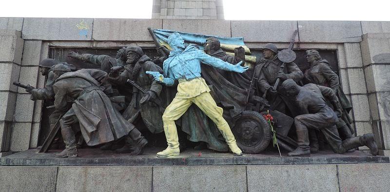 monumento all'armata russa, Sofia, Bulgaria