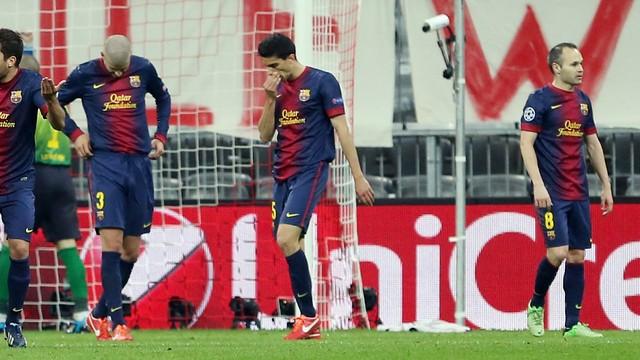 Reaksi dari Barcelona Vs Bayern