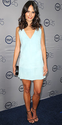 Jordana Brewster, TNT, dress, fashion