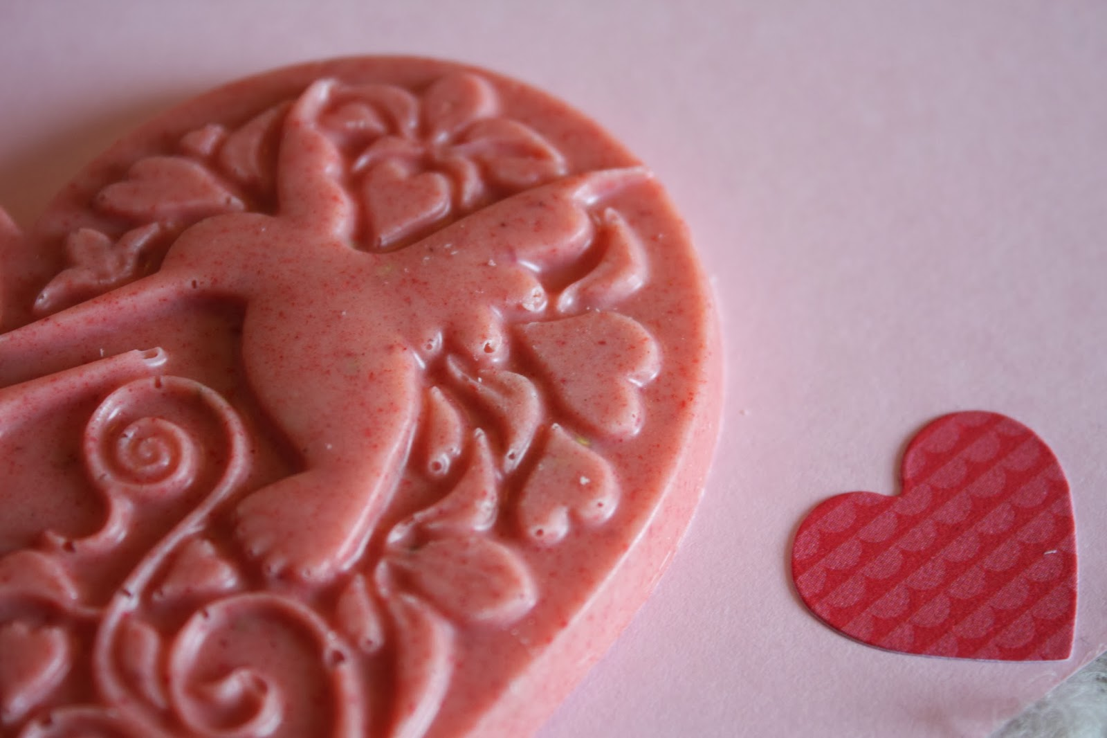 Hotel Chocolat Strawberry White Chocolate Heart