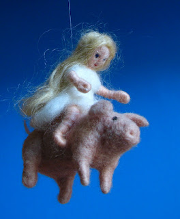 needle felted and photographed by karla b. rihtaršič