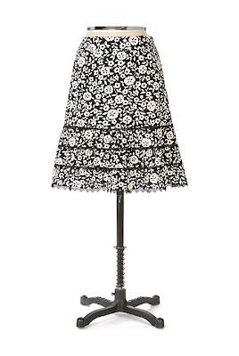 Anthropologie Petal Cascade Skirt