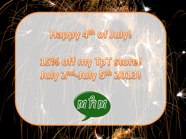 15% off tpt store photo