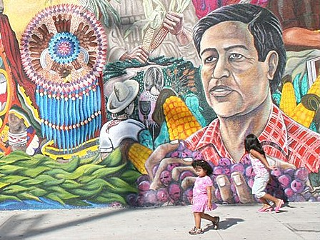 oilcloth international the chicano heritage mural