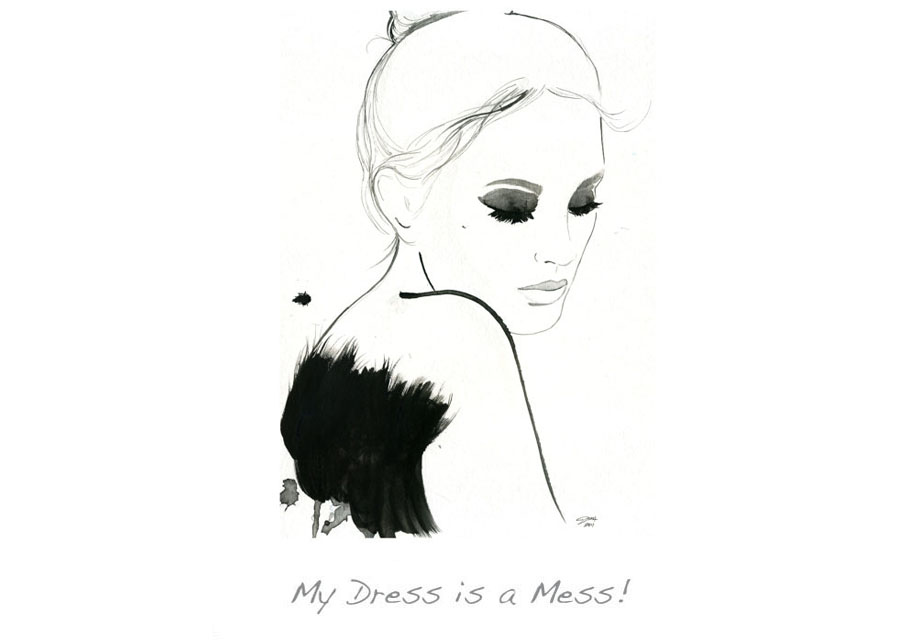 My Dress is a Mess!