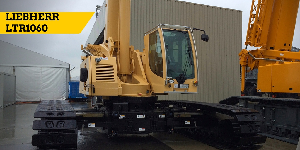 LTR1060 displayed at Liebherr Customer Day in June 2015