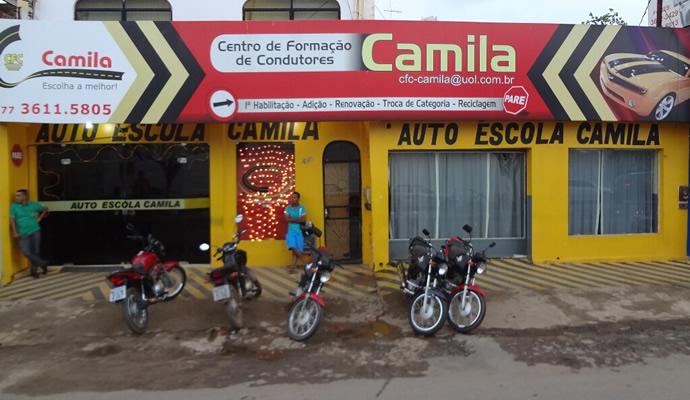 CENTRO DE FORMAÇÃO DE CONDUTORES CAMILA