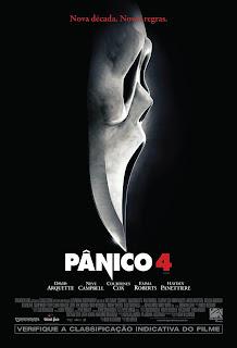 Pôster nacional e crítica de PÂNICO 4 (Scream 4)
