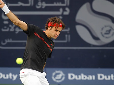 Watch Dubai 2012 Semifinals Live: Federer vs Del Potro
