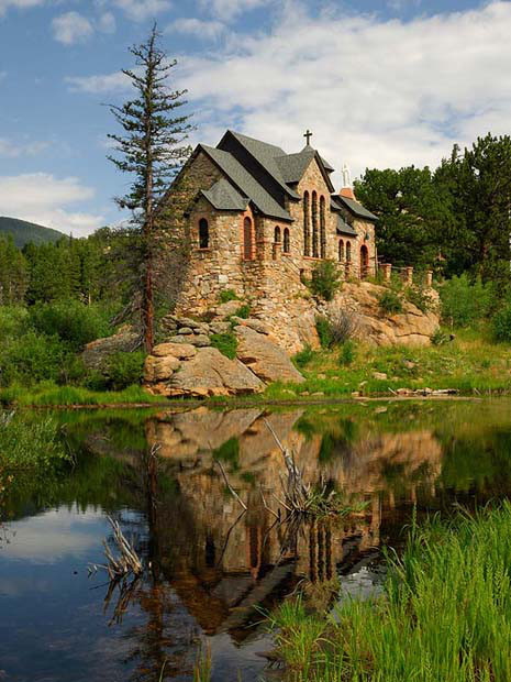 Capela sobre Pedra, Allenspark, Colorado, EUA