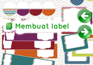 label blog design