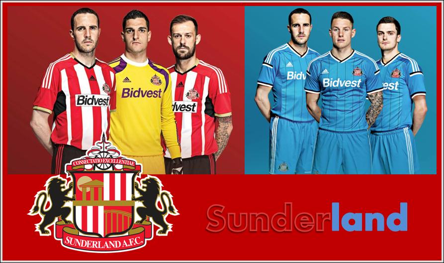 seragam-kostum-jersey Sunderland A.F