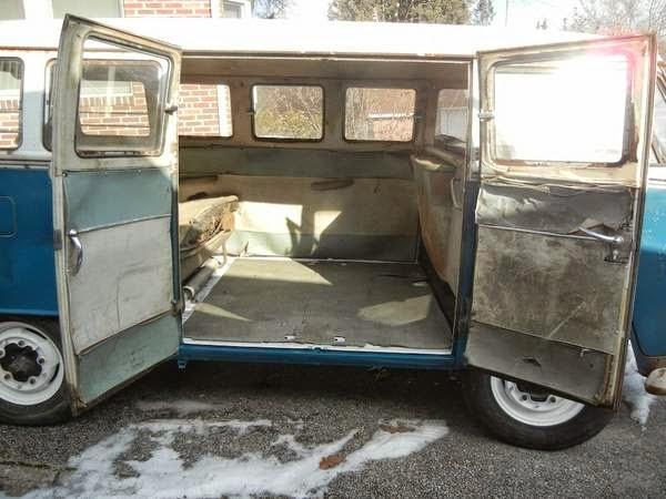 Project 1967 volkswagen 13 window deluxe bus for 13 window vw bus