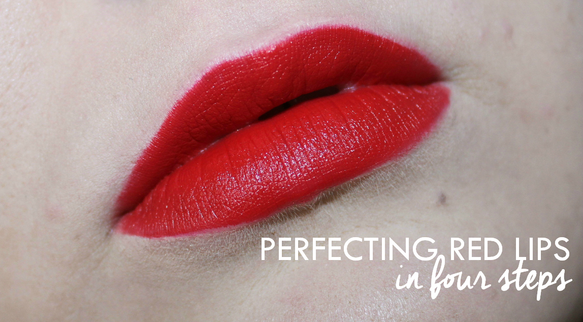 HOW TO: Perfect Red Lips Like A Pro