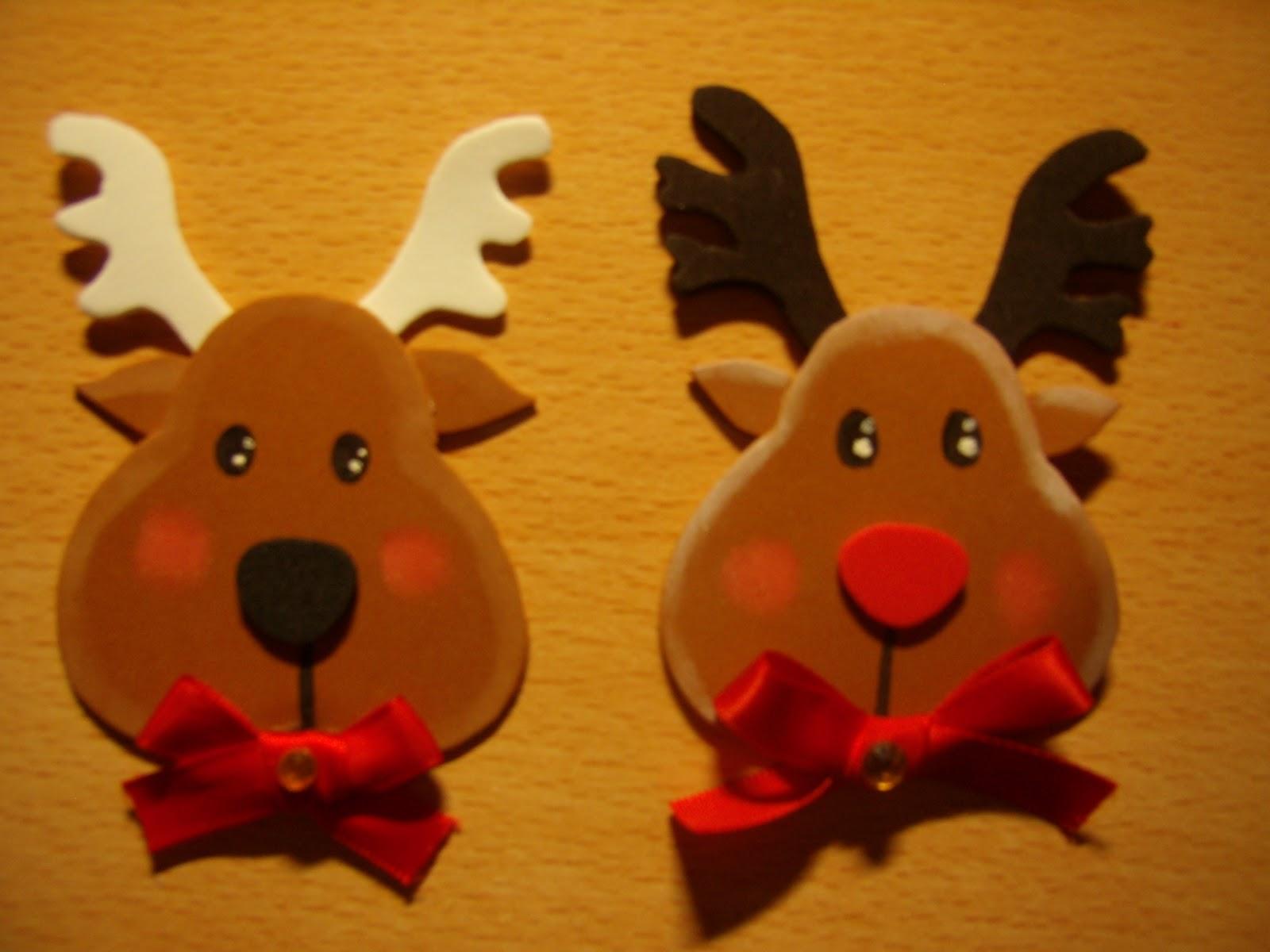 adorno de navidad renos