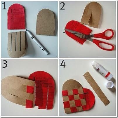 C mo hacer adornos para san valent n portal de manualidades - Como hacer adornos de san valentin ...
