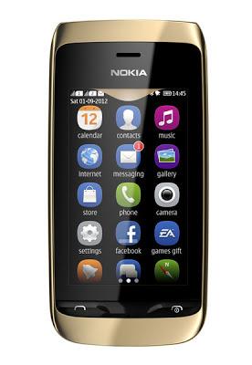 Nokia Asha 310, Harga Nokia Asha 310, Spesifikasi Nokia Asha 310