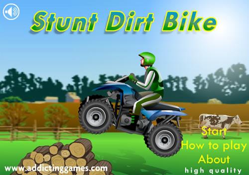 เกมส์จักรยานวิบาก Stunt Dirt Bike