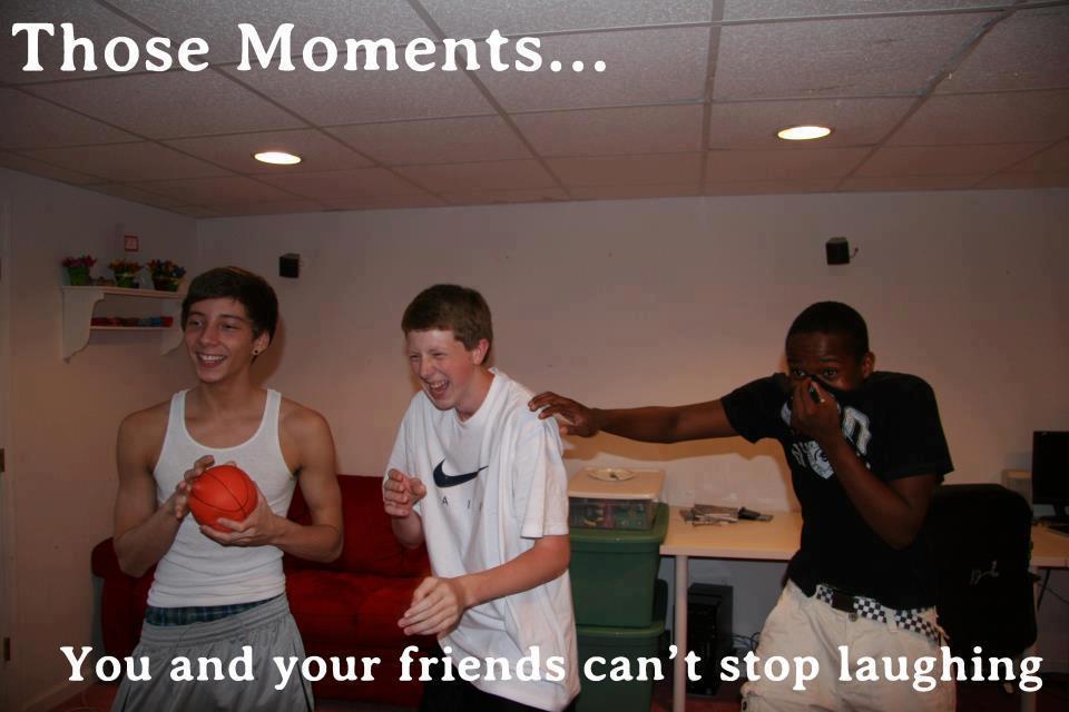 Those moments...