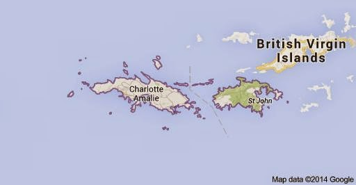 Map Of British Virgin Islands And Us Virgin Islands Globalinterco - Us and british virgin islands map