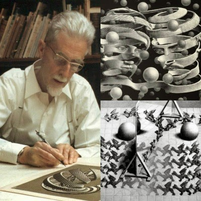 Retrospettiva di Escher in corso a Bologna