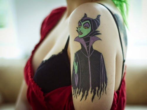 Maleficent - Disney Villain Tattoo