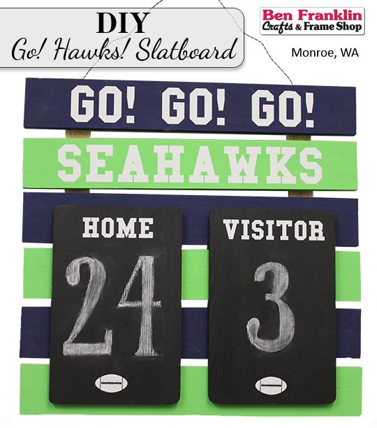 DIY Seahawks Scoreboard