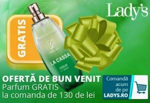Profita de promotiile Lady's.