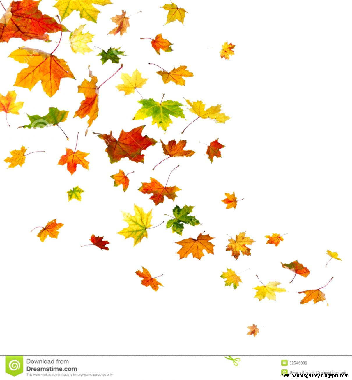 Autumn Leaves Falling Clipart | Wallpapers Gallery
