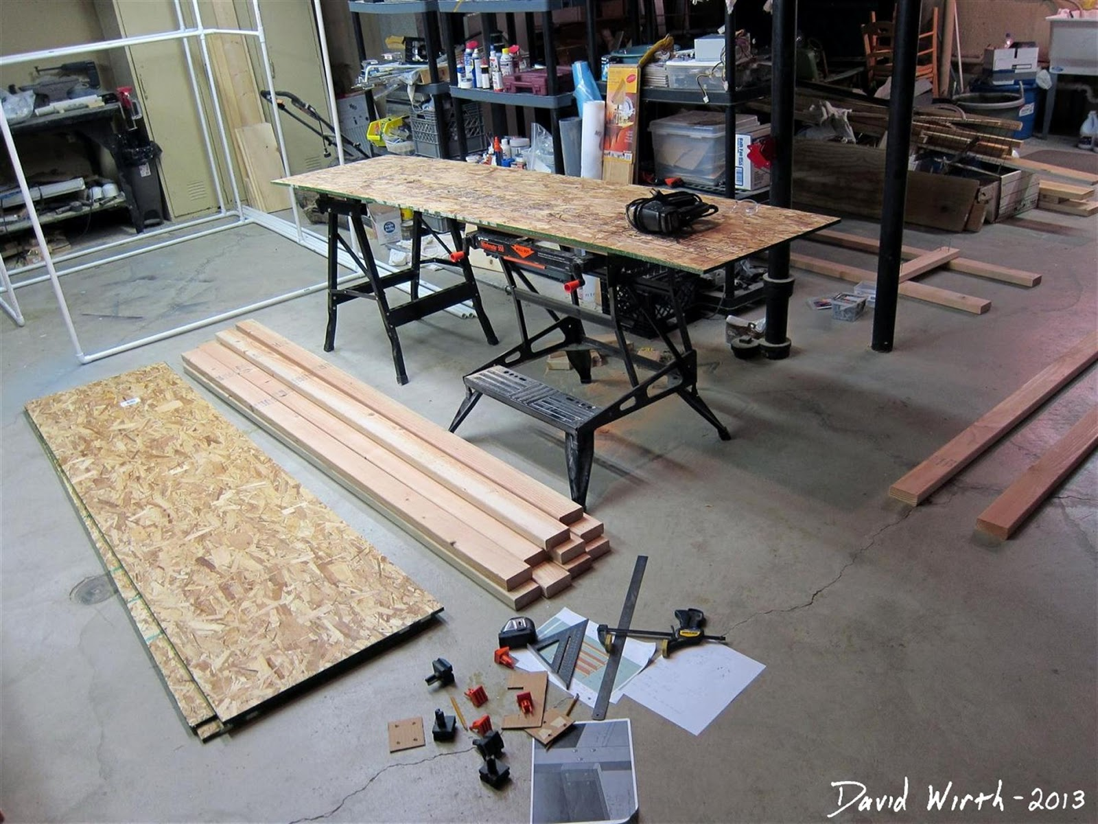 Displaying 18> Images For - Diy Garage Shelves 2x4...