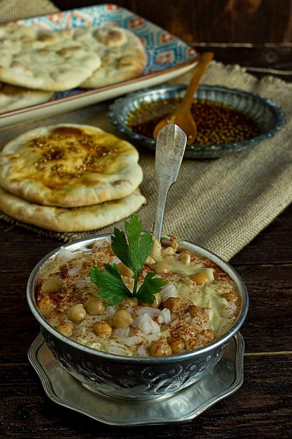 Hummus de Andrés Madrigal