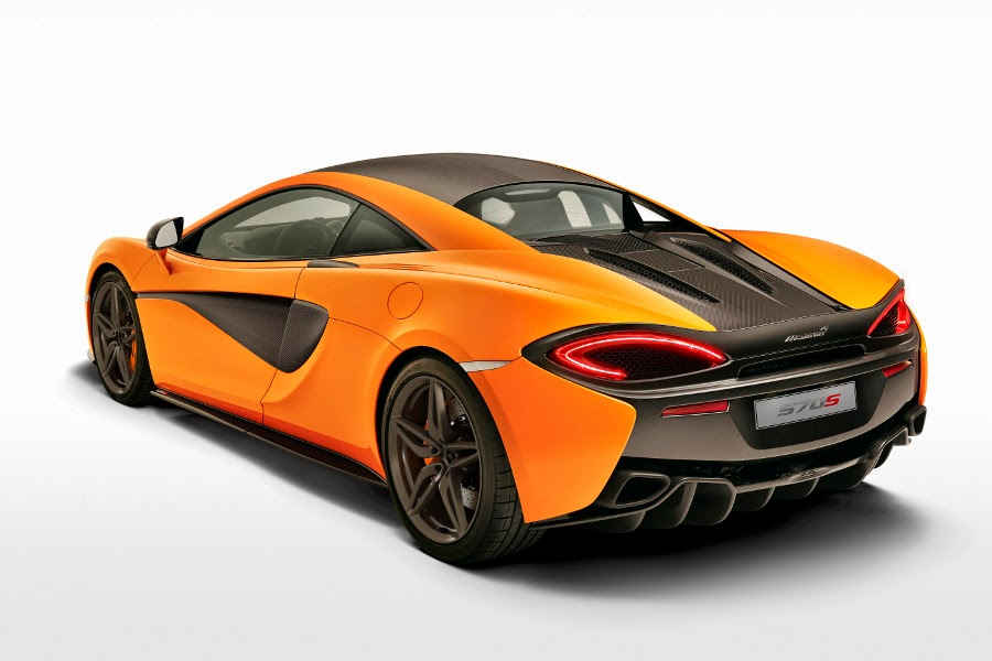 McLaren 570S Coupé (2016) Rear Side