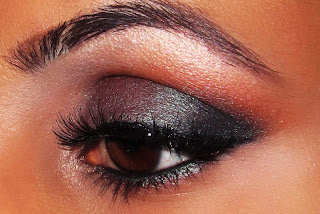 mac, club, carbon, swiss chocolate, saffron, eyeshadow, look, blog, tutorial, smokey