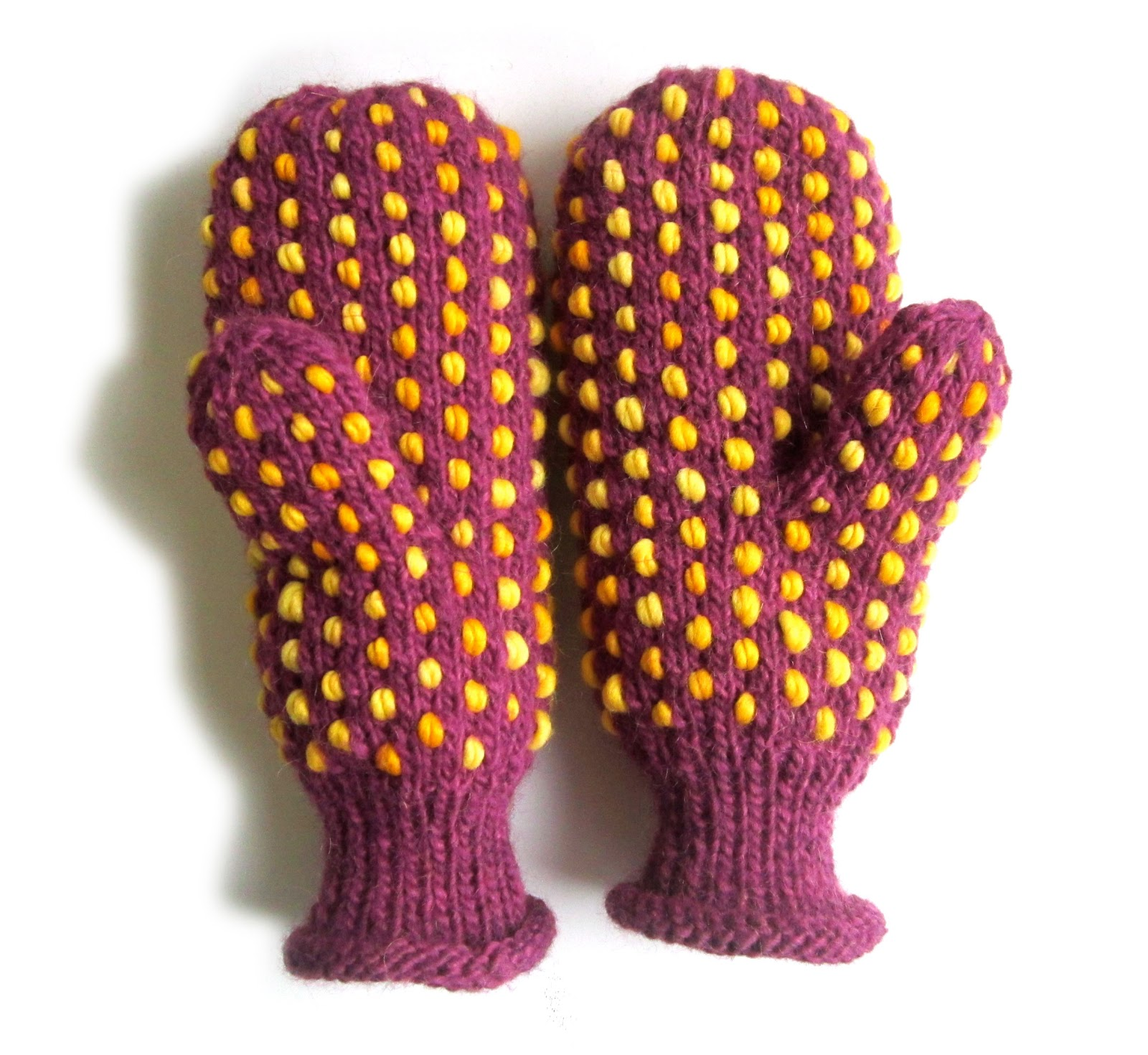 Knitting Pattern For Small Mittens : TECHknitting: Stuffed Mittens