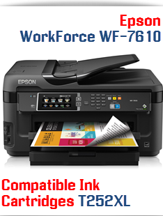 Service Error Epson Workforce WF-7610