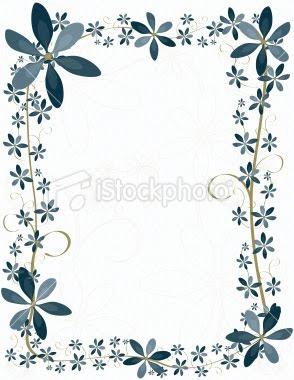 Wedding Flowers: Flowers Border Design