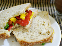 Sanduíche com Glutadela (vegana)