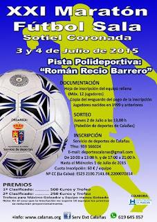 XXI Maratón de Fútbol Sala - Sotiel Coronada