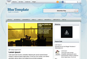 BlueTemplate Blogger Template