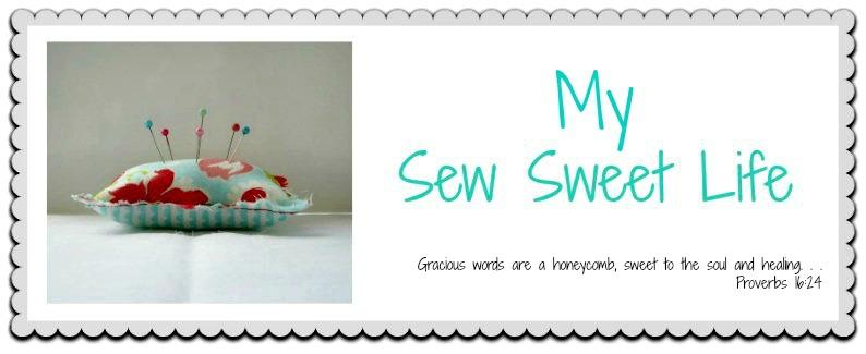 my sew sweet life