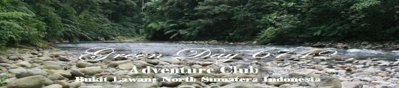 Green Day 6742  Trekking Club ( Rafting Xcursioan )  Bukit Lawang North Sumatera  Indonesia