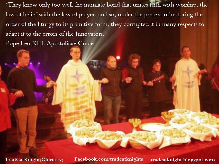 Exposing Vatican II & New Mass, Fr. Villa