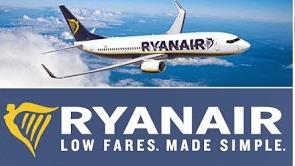 Ryanair se suma al reto de la cubeta de hielo