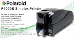 ID Card Printer POLAROID P4000E