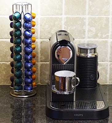 Kuuk Coffee Pod Rotating Rack #coffeepodrack