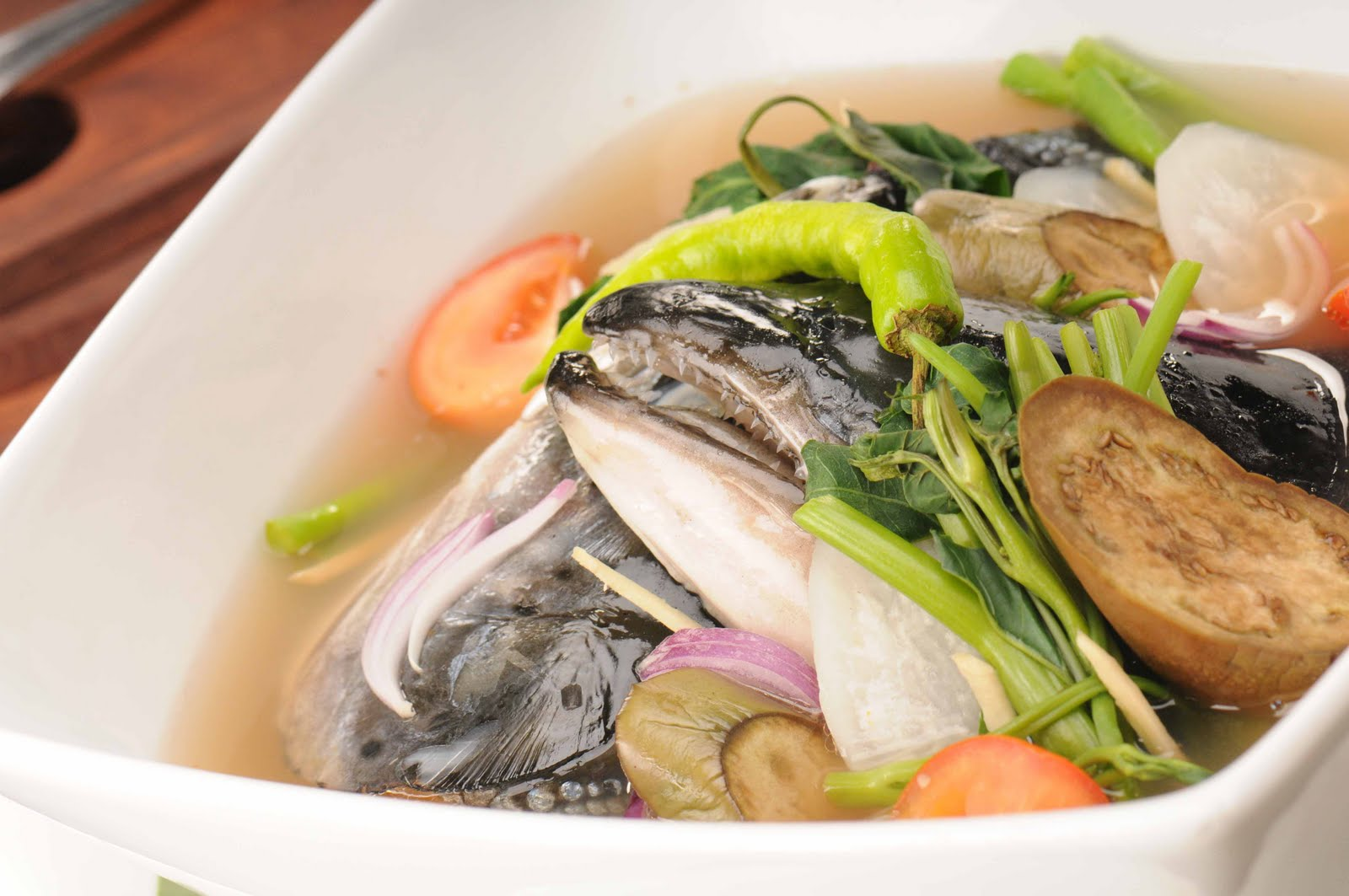 sour miso soup salmon miso sinigang filipino sour soup recipe yummly ...