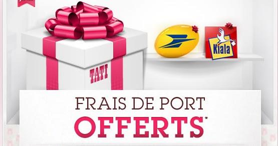 Code promo tati - Frais de port gratuit rue du commerce ...