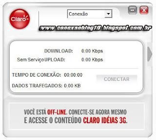 como configurar internet 3G no modem com discador Claro 3G (Desbloqueado)