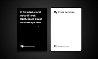 Cards Against Humanity is a party game for horrible people